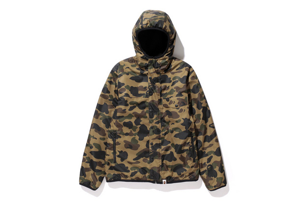 Image of A Bathing Ape 2013 Fall/Winter 1ST CAMO x FLEECE REVERSIBLE HOODIE