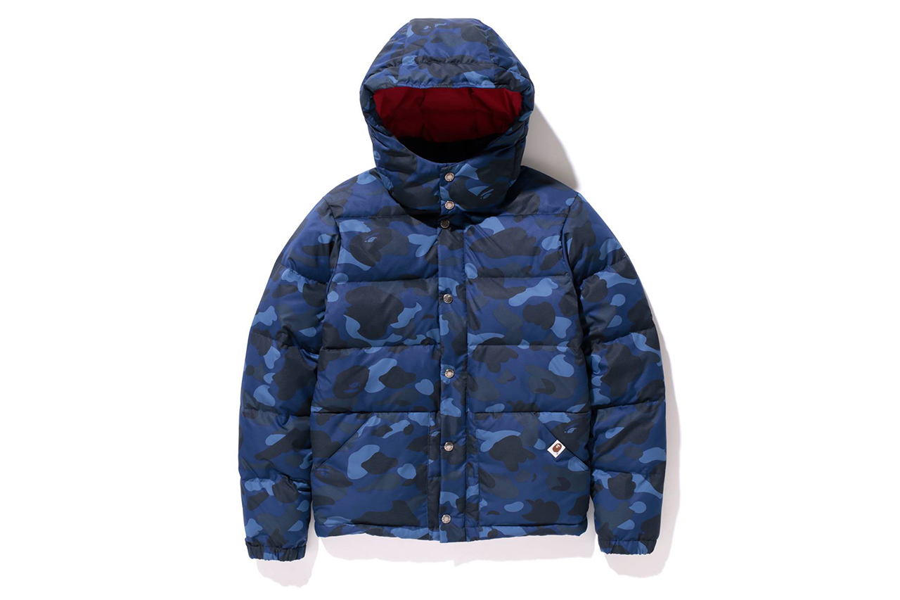 Image of A Bathing Ape 2013 Fall/Winter COLOR CAMO DOWN JACKET