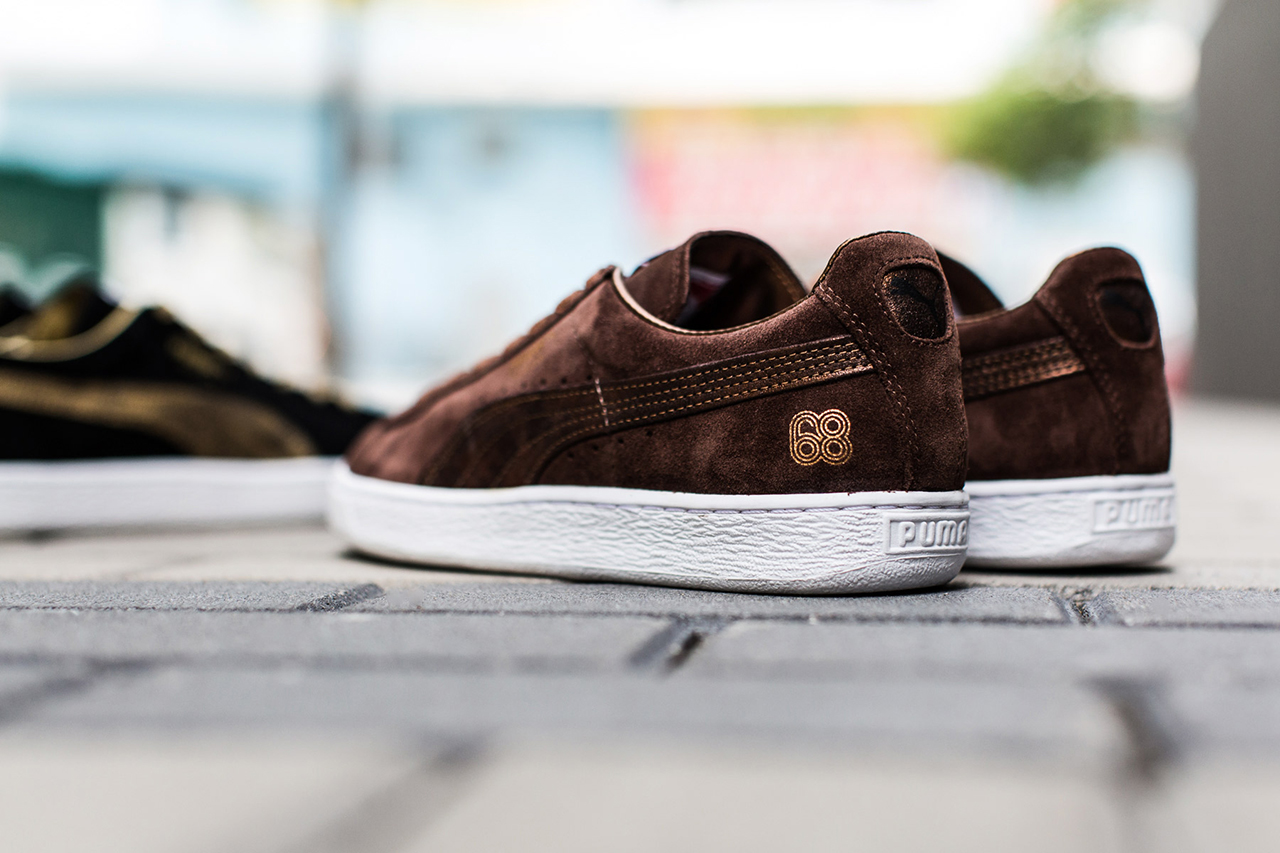 "Image of A Closer Look at the PUMA Suede 45th Anniversary ""Since '68″ Pack"