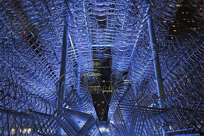 "Image of Ai Weiwei ""Forever Bicycles"" Installation"