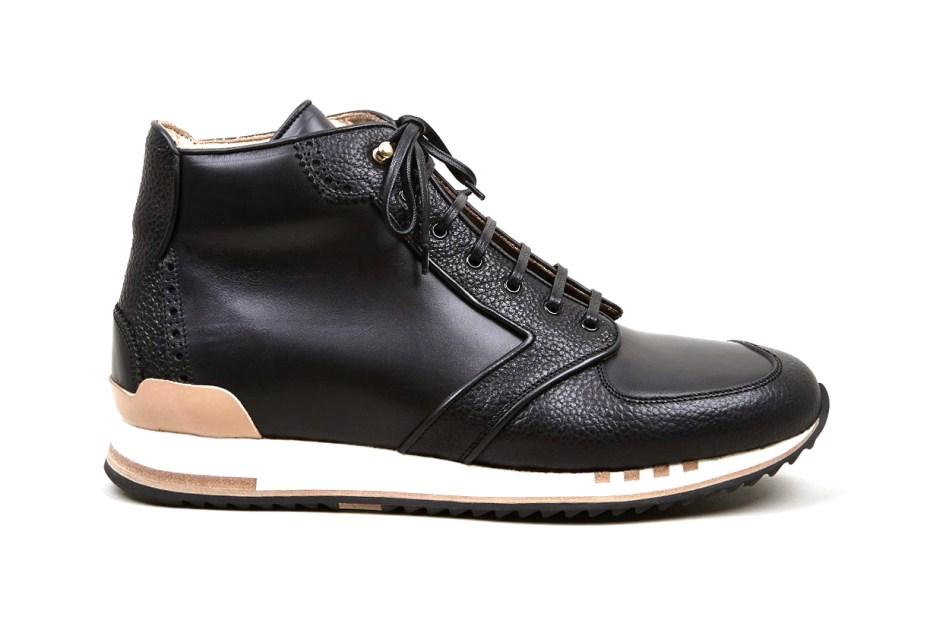 Image of Alexander McQueen Black Hightop Sneakers