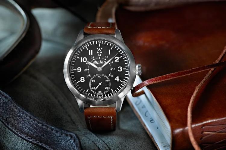 Image of Alpina Heritage Pilot Watch