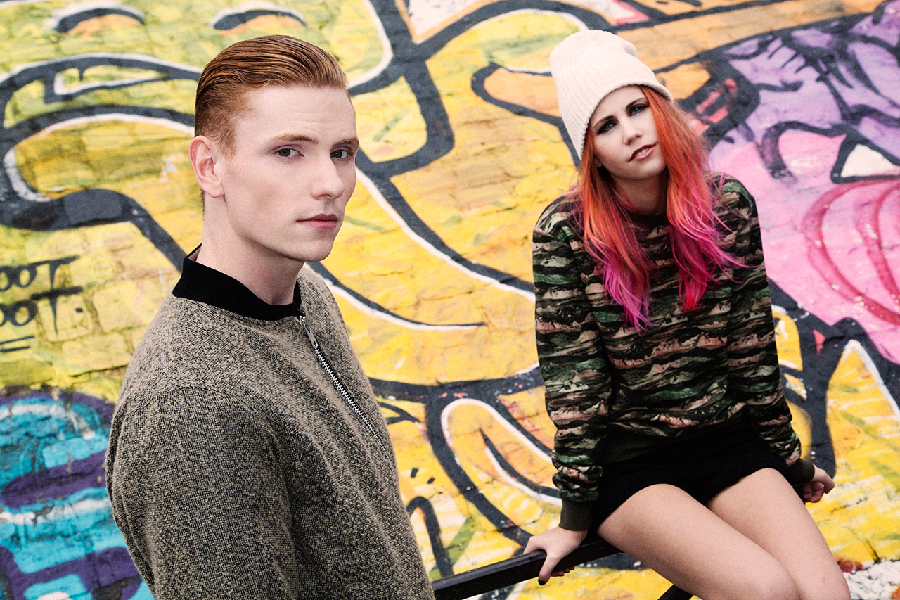 """Image of Backroom 2013 Fall/Winter """"It's A Boy-Girl Thing"""" Editorial"""