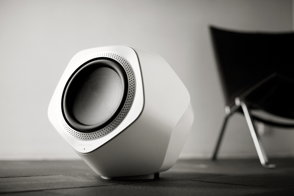 Image of Bang & Olufsen BeoLab Wireless Speakers and Subwoofer