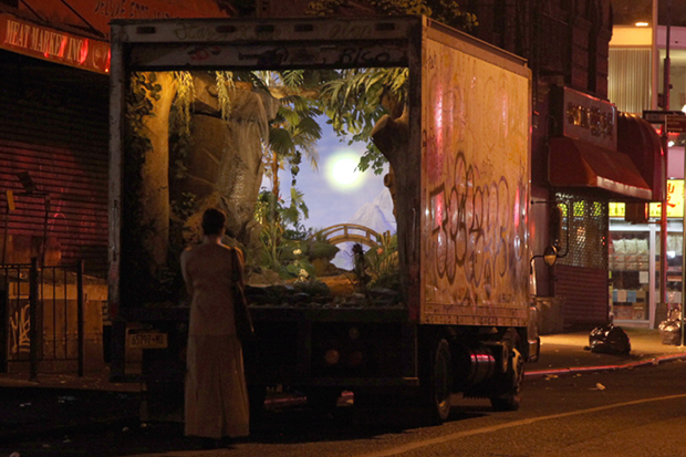 "Image of Banksy's ""Better Out Than In"" Project in NYC Continues Onto Day 5"