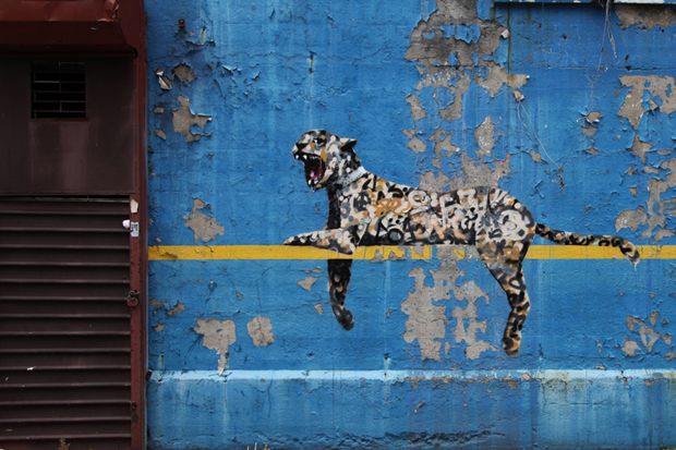 Banksy's 'Better Out Than In'