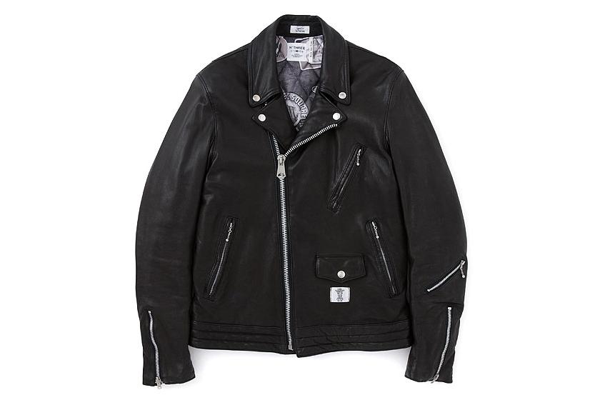 """Image of BEDWIN & THE HEARTBREAKERS 2013 Fall/Winter """"BLACK BUSHER"""" Biker Jacket"""