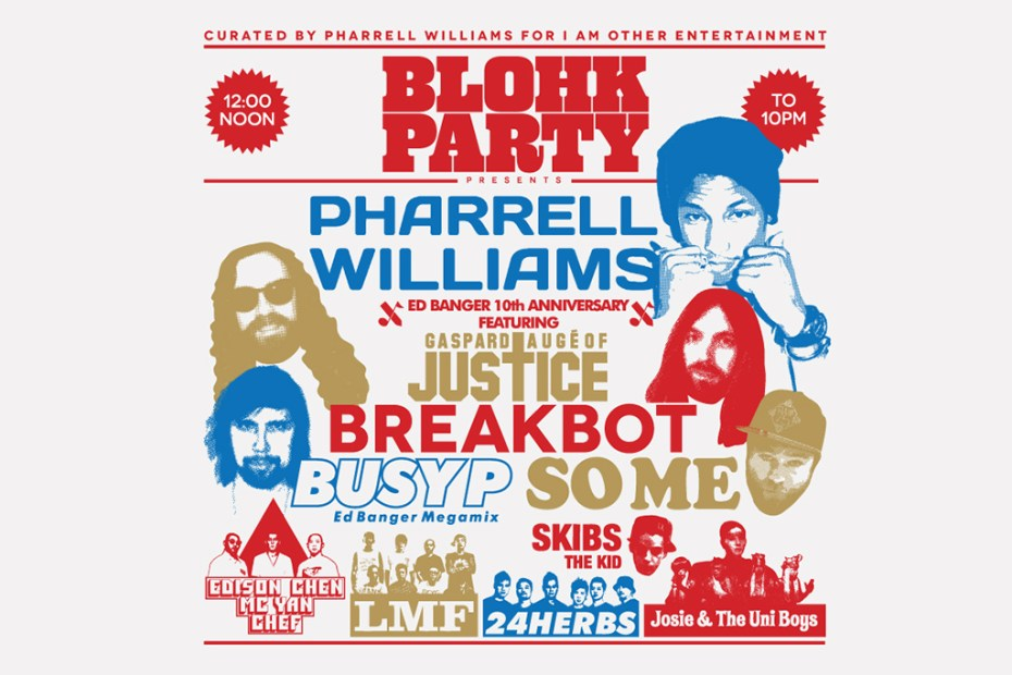 Image of BLOHK PARTY 2013 Curated by Pharrell Williams for i am OTHER Entertainment