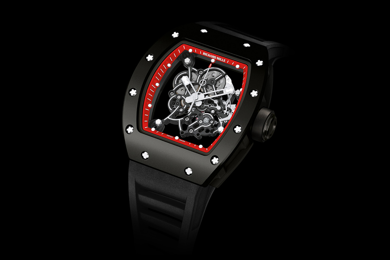 "Image of Bubba Watson x Richard Mille ""Red Drive"" and ""White Drive"" RM 055"