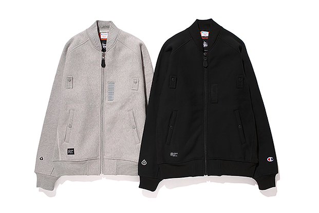 "Image of Champion x Stussy x GORE-Windstopper® ""MA-1"" Jacket"
