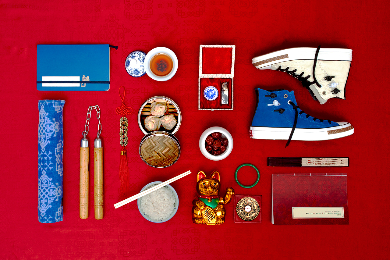 """Image of CLOT x Converse First String 2013 Holiday """"Chang Pao"""" Collection Preview"""