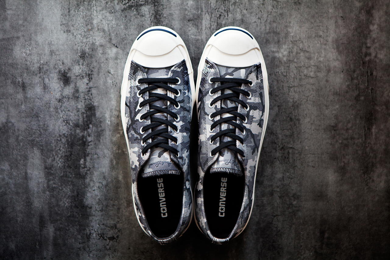 Image of Converse 2013 Fall/Winter Jack Purcell Black + White Camo