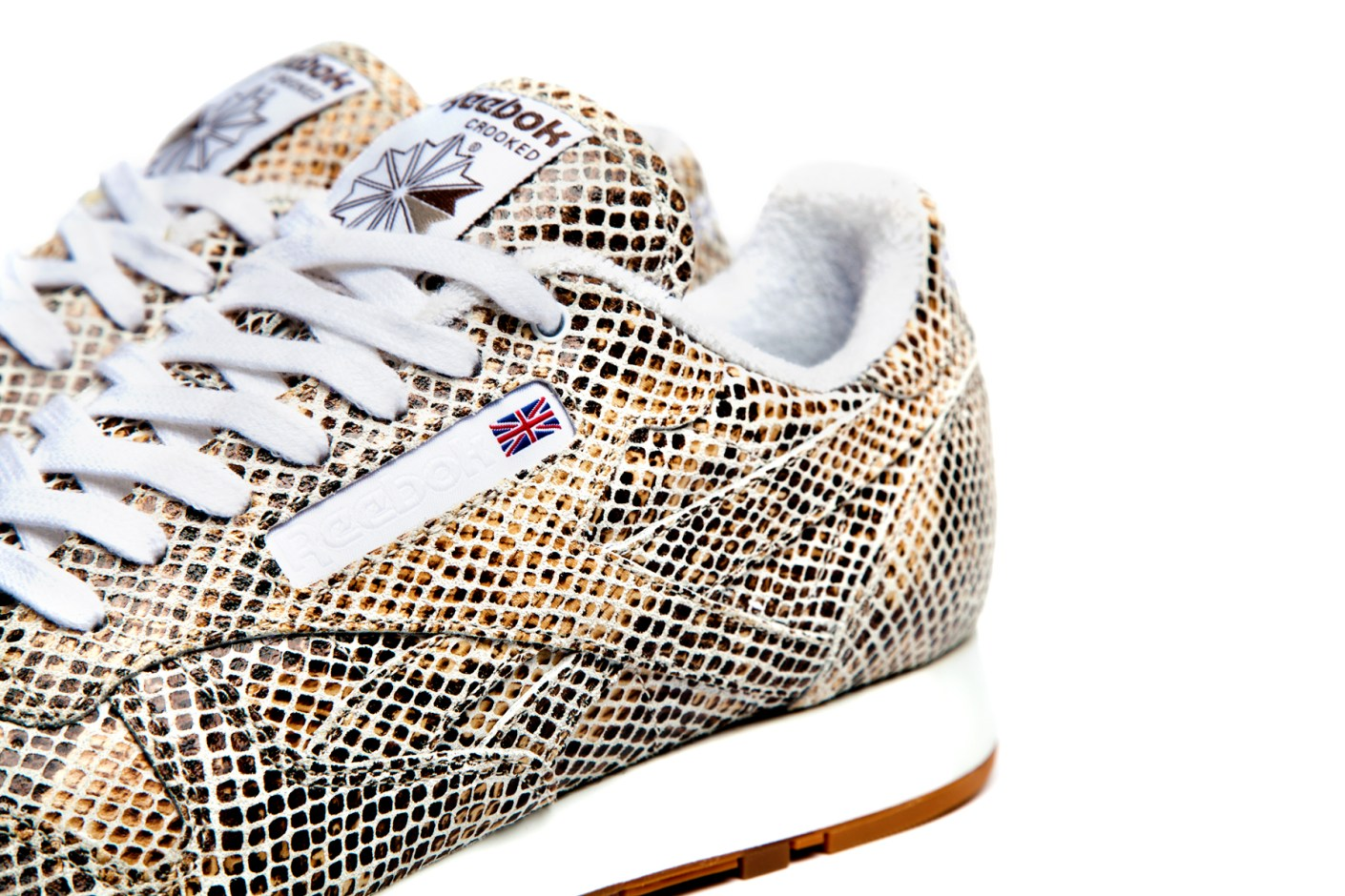 "Image of Crooked Tongues x Reebok Classic Leather 30th Anniversary ""Wannabe"""