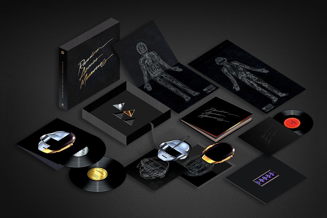Image of Daft Punk's 'Random Access Memories' Gets the Deluxe Box Set Treatment