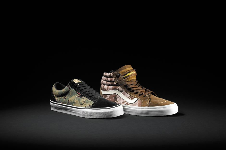 "Image of DEFCON x Vans Syndicate ""Digital Camo"" Pack"