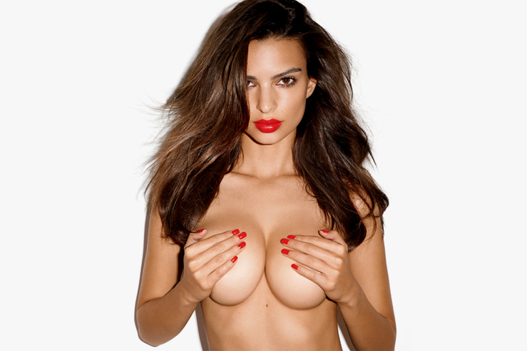 Image of Emily Ratajkowski by Terry Richardson for GQ's 2013 November Issue