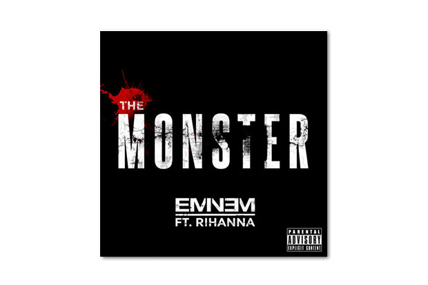 Image of Eminem featuring Rihanna - The Monster