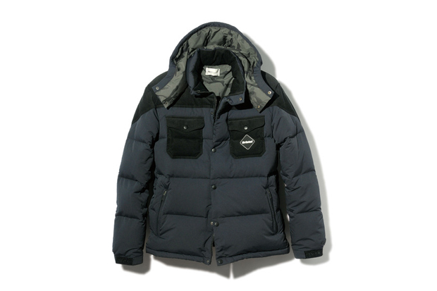 Image of F.C.R.B. 2013 Fall/Winter Fabric Mix Down Jacket