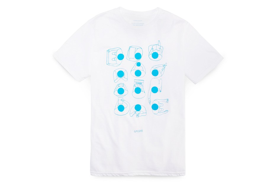 Image of Geoff McFetridge for Jack Spade T-Shirts