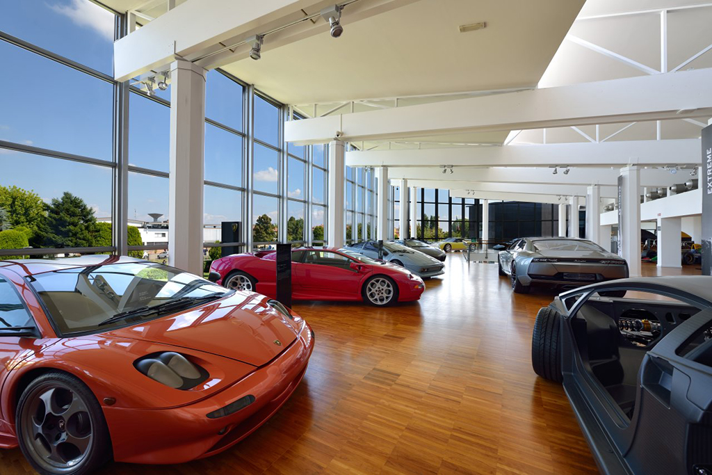 Image of Get Inside the Museo Lamborghini with Google Maps
