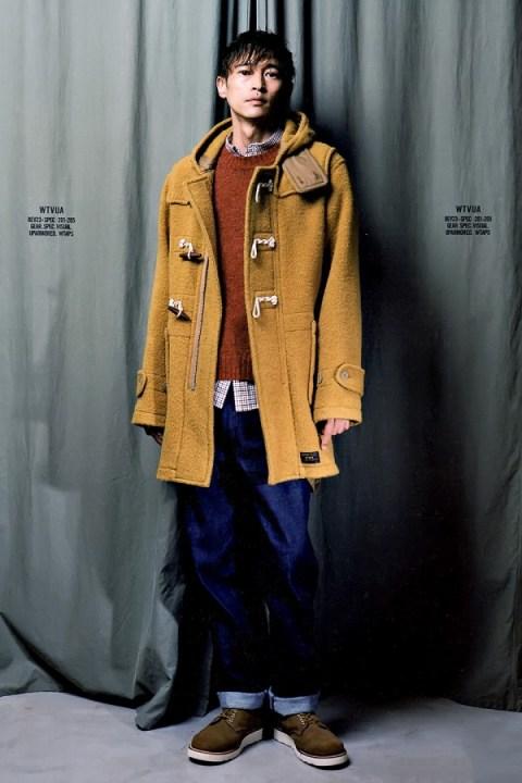 Image of GRIND Magazine: WTAPS 2013 Fall/Winter Editorial featuring Yosuke Kubozuka