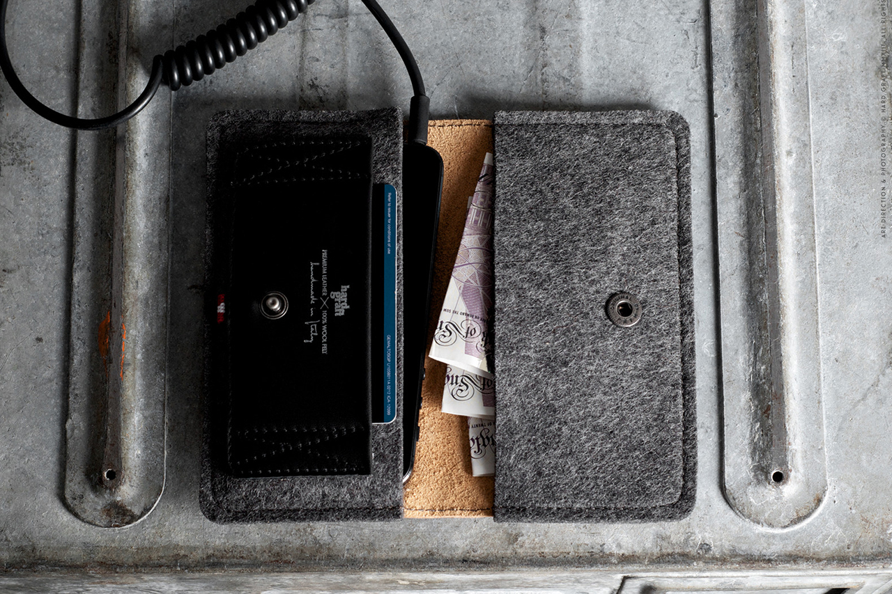Image of hard graft iPhone 5 Fold Wallet