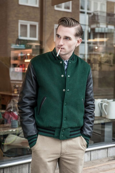 Image of Harry Stedman x Golden Bear 2013 Fall/Winter Varsity Jackets
