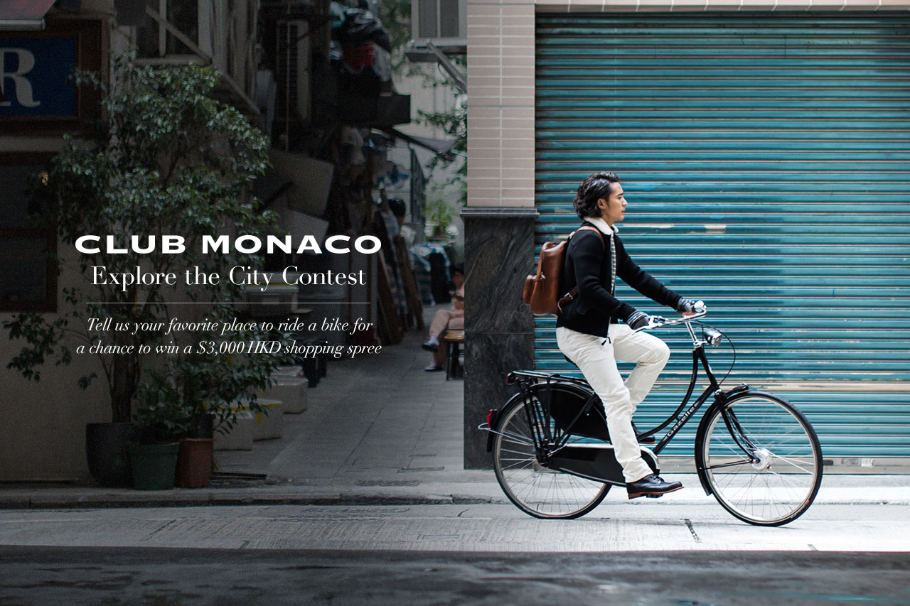 "Image of Winner Announcement! Win a $3,000 HKD Shopping Spree with the Club Monaco ""Explore the City"" Contest"