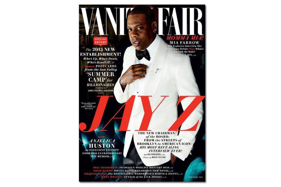 Image of Jay Z Covers Vanity Fair's 2013 November Issue