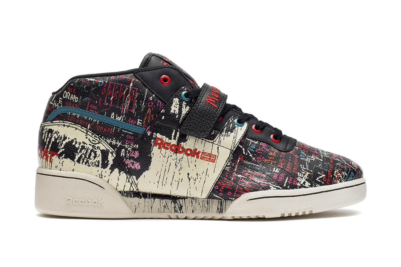 Image of Jean-Michel Basquiat x Reebok 2013 Fall/Winter Collection