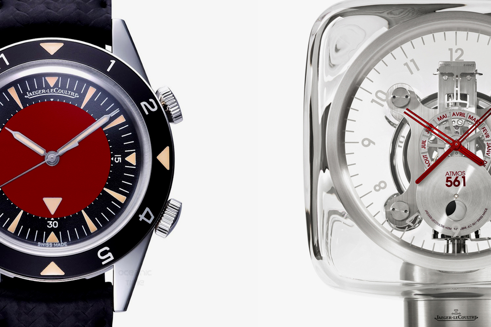 Image of Jony Ive and Marc Newson Customize Jaeger-LeCoultre Pieces for (RED)