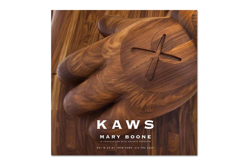 Image of KAWS @ Mary Boone Gallery