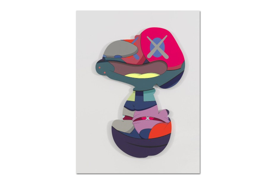 "Image of KAWS ""PASS THE BLAME"" @ Galerie Perrotin New York"
