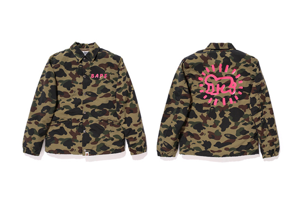 Image of Keith Haring x A Bathing Ape 2013 Capsule Collection