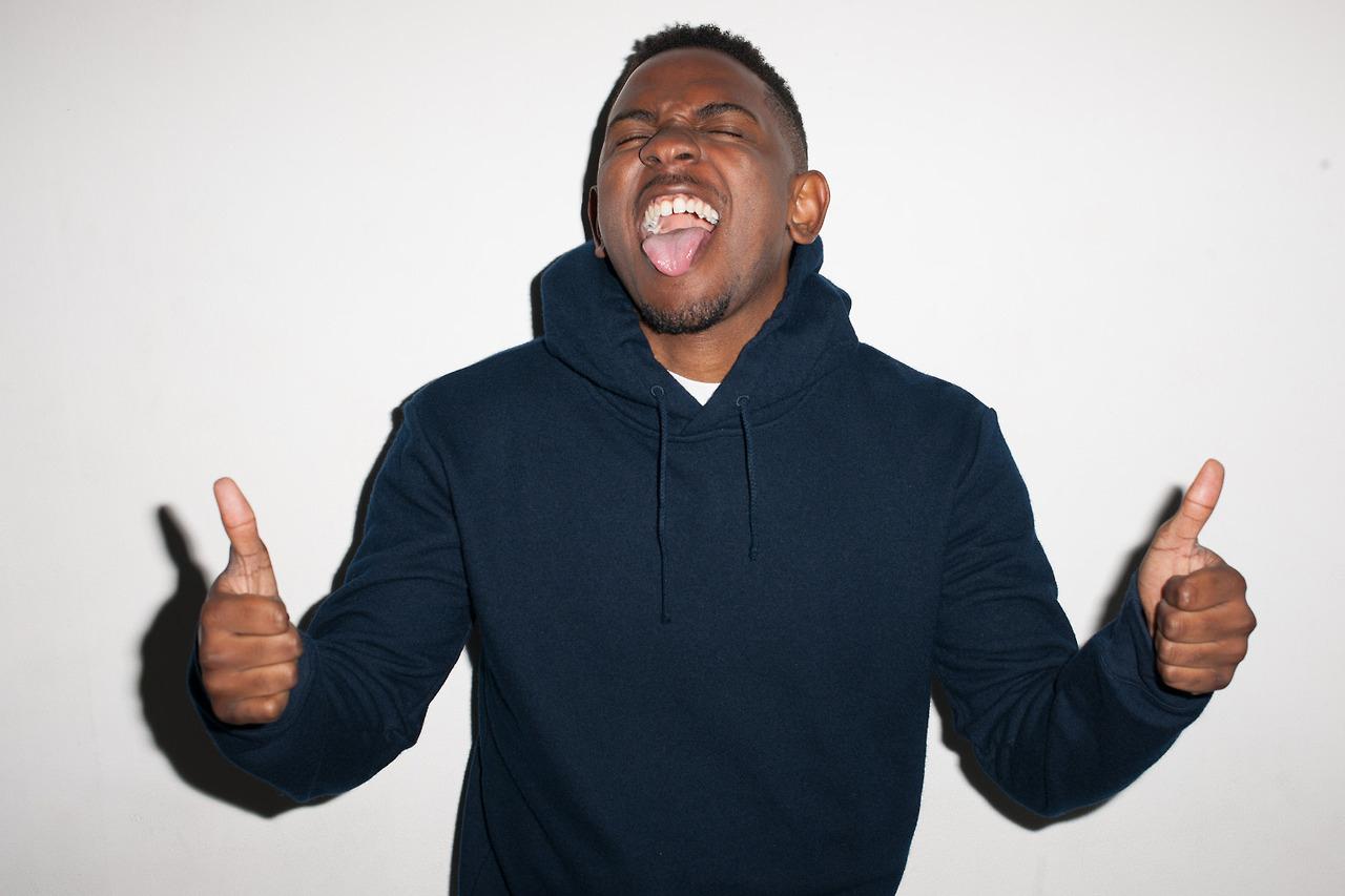 Image of Kendrick Lamar Visits Terry Richardson's Studio
