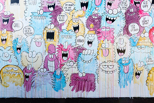 "Image of Kevin Lyons ""Shits & Giggles"" @ HVW8 Art + Design Gallery"