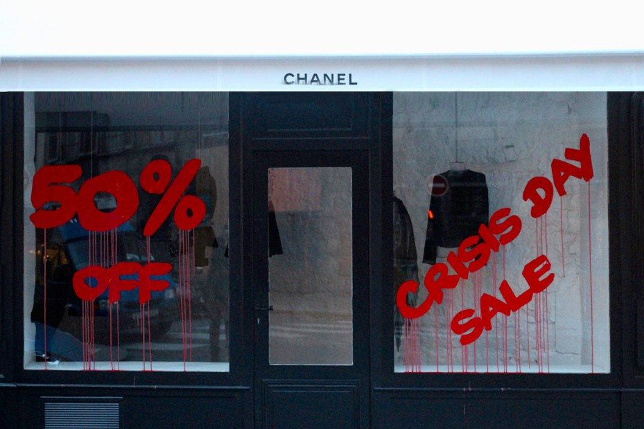 Image of Kidult Vandalizes Chanel Paris
