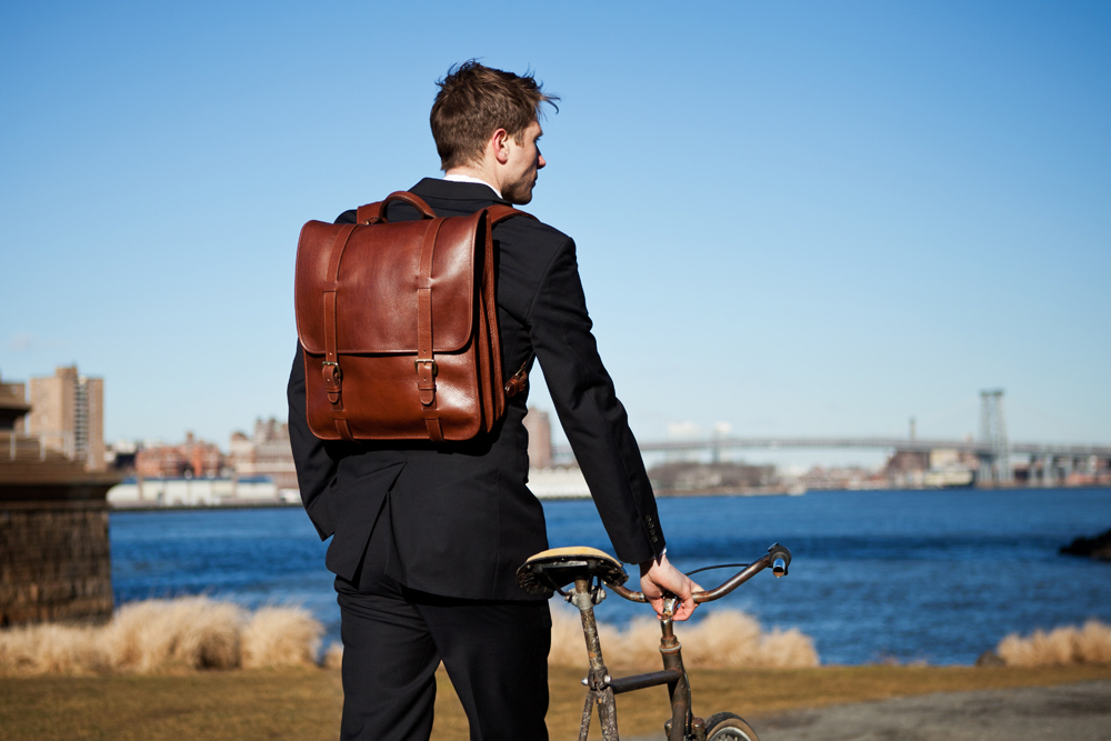 Image of Lotuff Leather Backpack