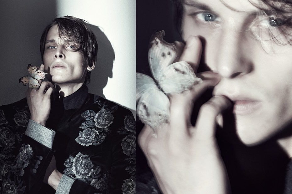 """Image of LUISAVIAROMA 2013 Fall/Winter """"The Butterfly Catcher"""" Editorial"""