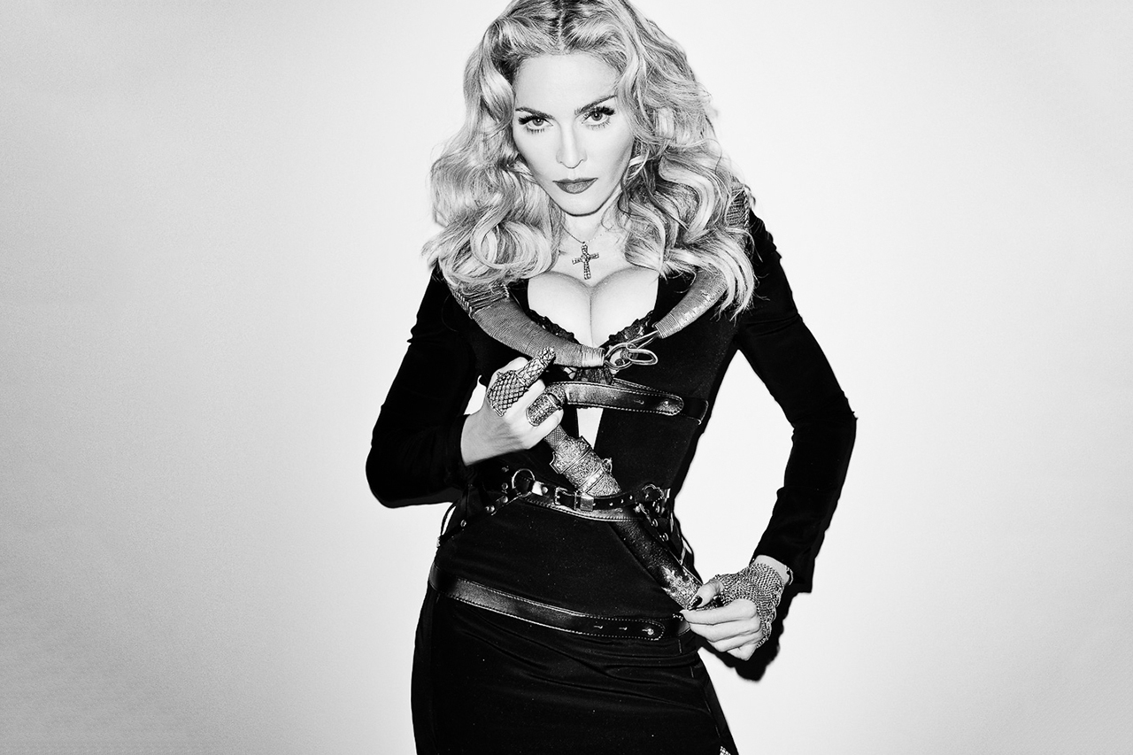 Image of Madonna Visits Terry Richardson's Studio