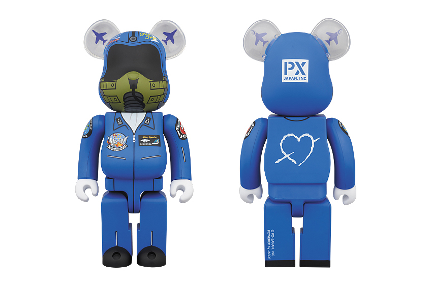 Image of Medicom Toy 400% Blue Impulse Bearbrick