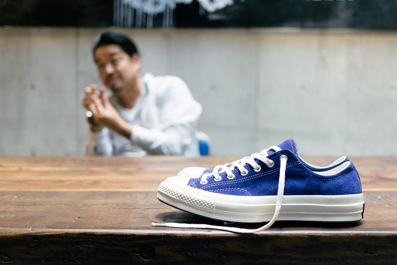 Image of Shinsuke Takizawa Discusses NEIGHBORHOOD's Debut Collection with Converse First String