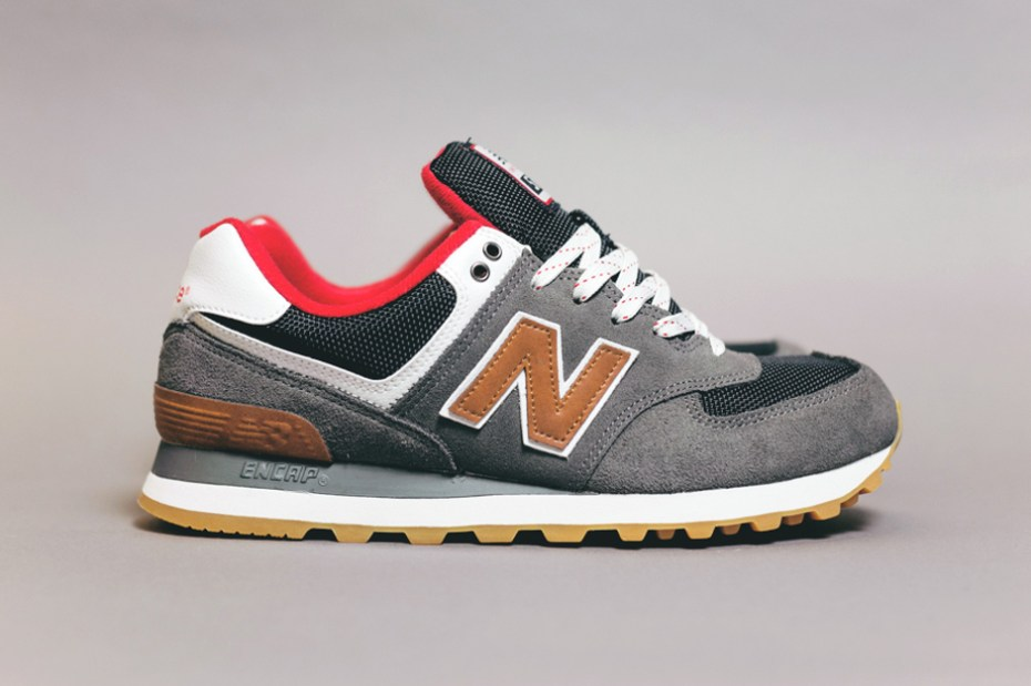 "Image of New Balance 574 ""Canteen"" Pack"