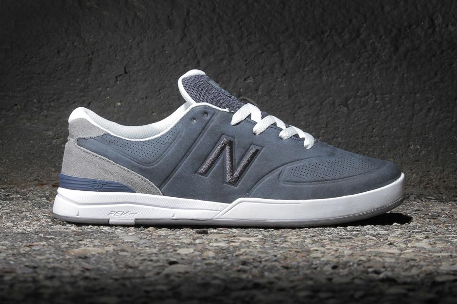 Image of New Balance Numeric Logan 637 Bering Blue/Micro Grey