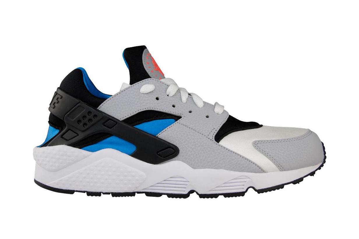 Image of Nike Air Huarache White/Wolf Grey-Blue Hero