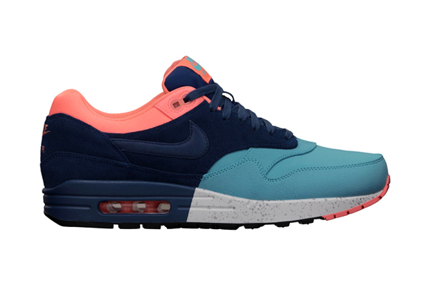 Image of Nike Air Max 1 PRM Gamma Blue/Brave Blue/Atomic Pink