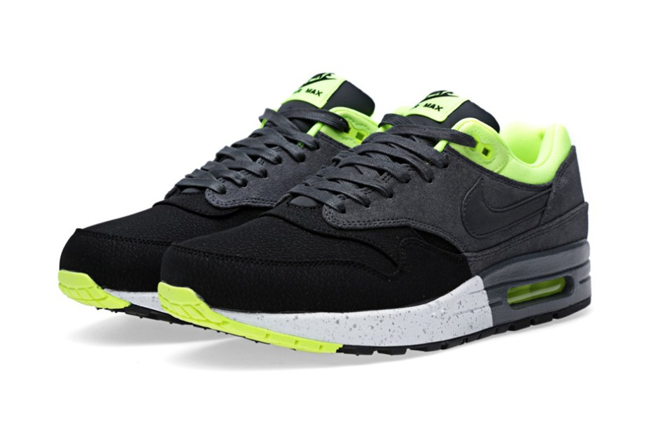 Image of Nike Air Max 1 PRM Black/Anthracite-Volt