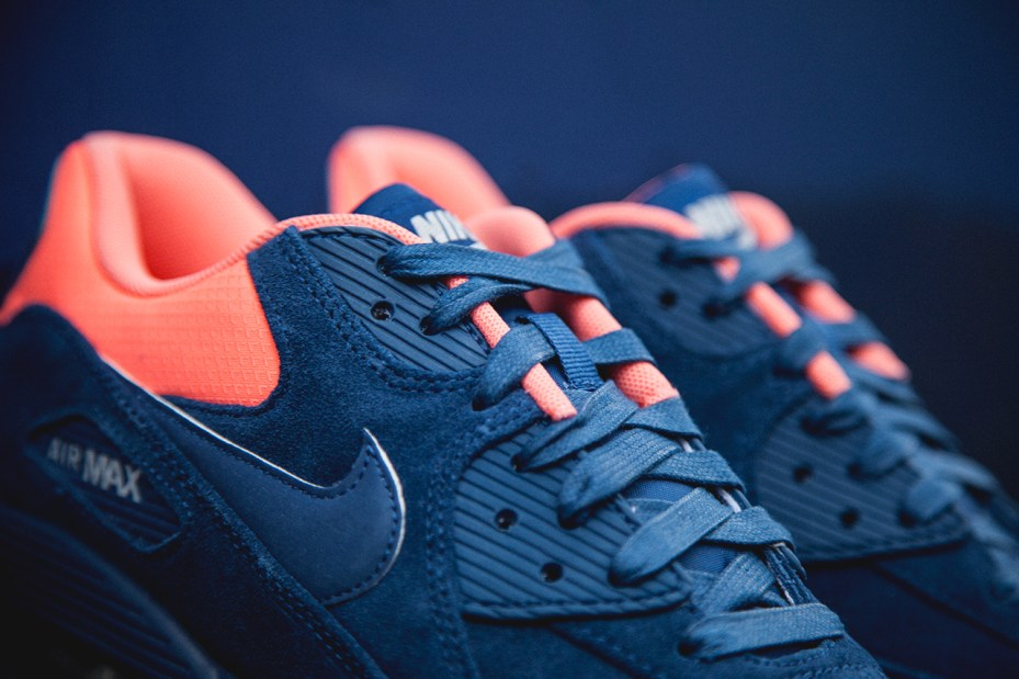 Image of Nike Air Max 90 PRM Brave Blue/Atomic Pink