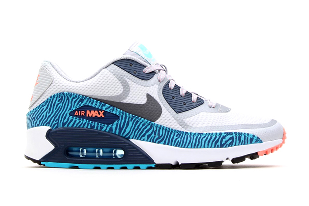 Image of Nike Air Max 90 CMFT PRM Tape Gray/Gamma Blue