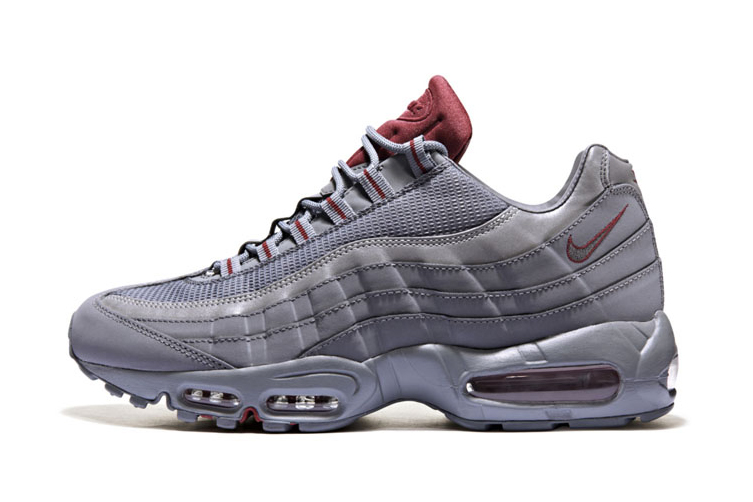 Image of Nike Air Max 95 Cool Grey/Team Red JD Sports Exclusive